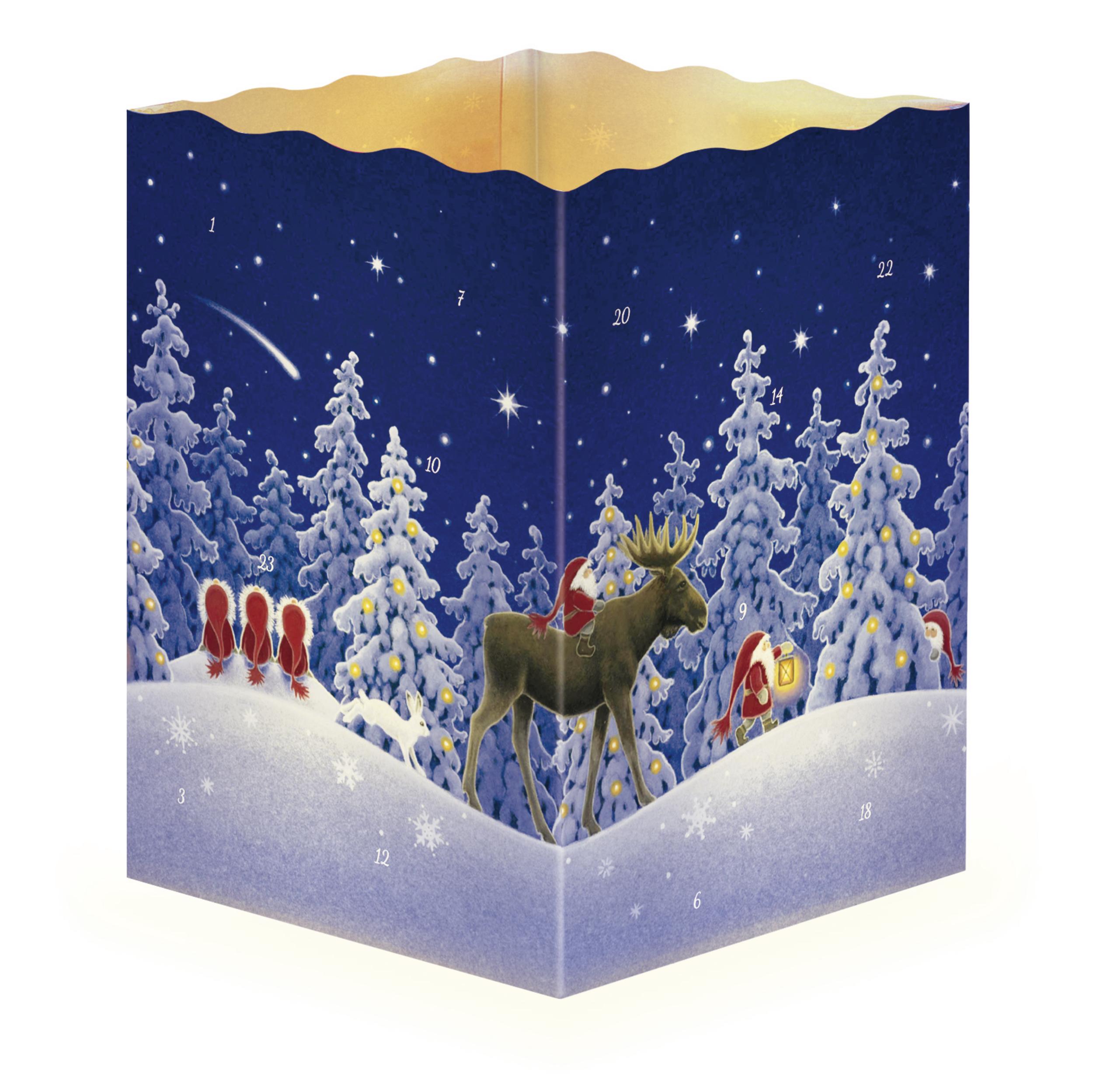"""Adventskalender """"Nordische Weihnacht"""""""