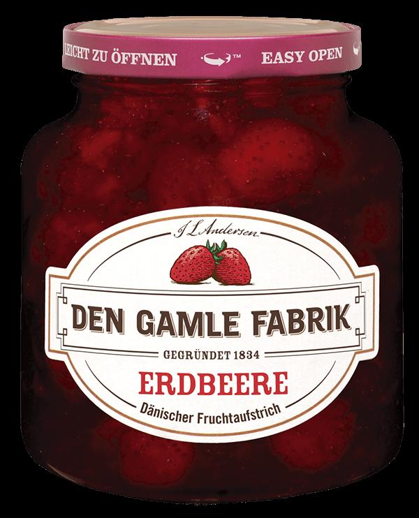 Den Gamle Fabrik Marmelade Erdbeere 380g