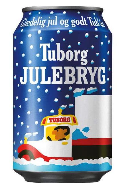 Tuborg Julebryg 5,6%  0,33 ltr.