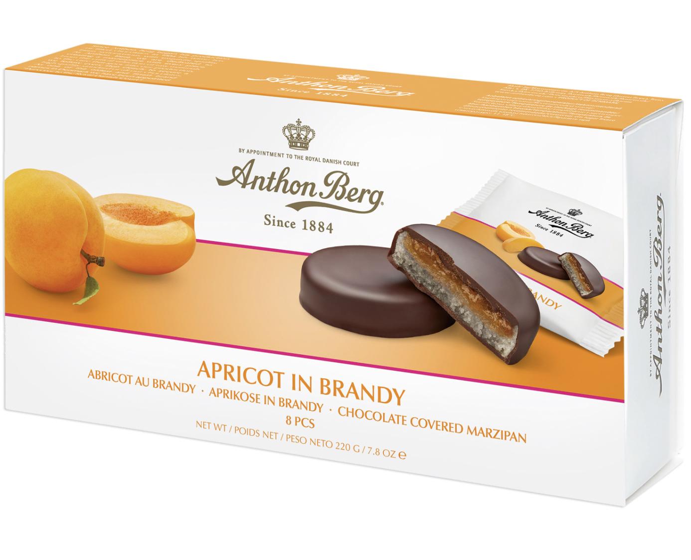 Anthon Berg Apricot in Brandy 220g