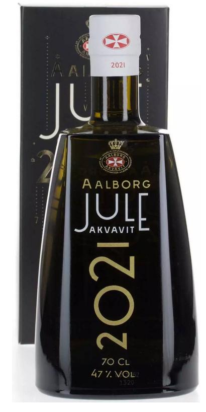 Aalborg Jule Akvavit 2021 47% 0,7l