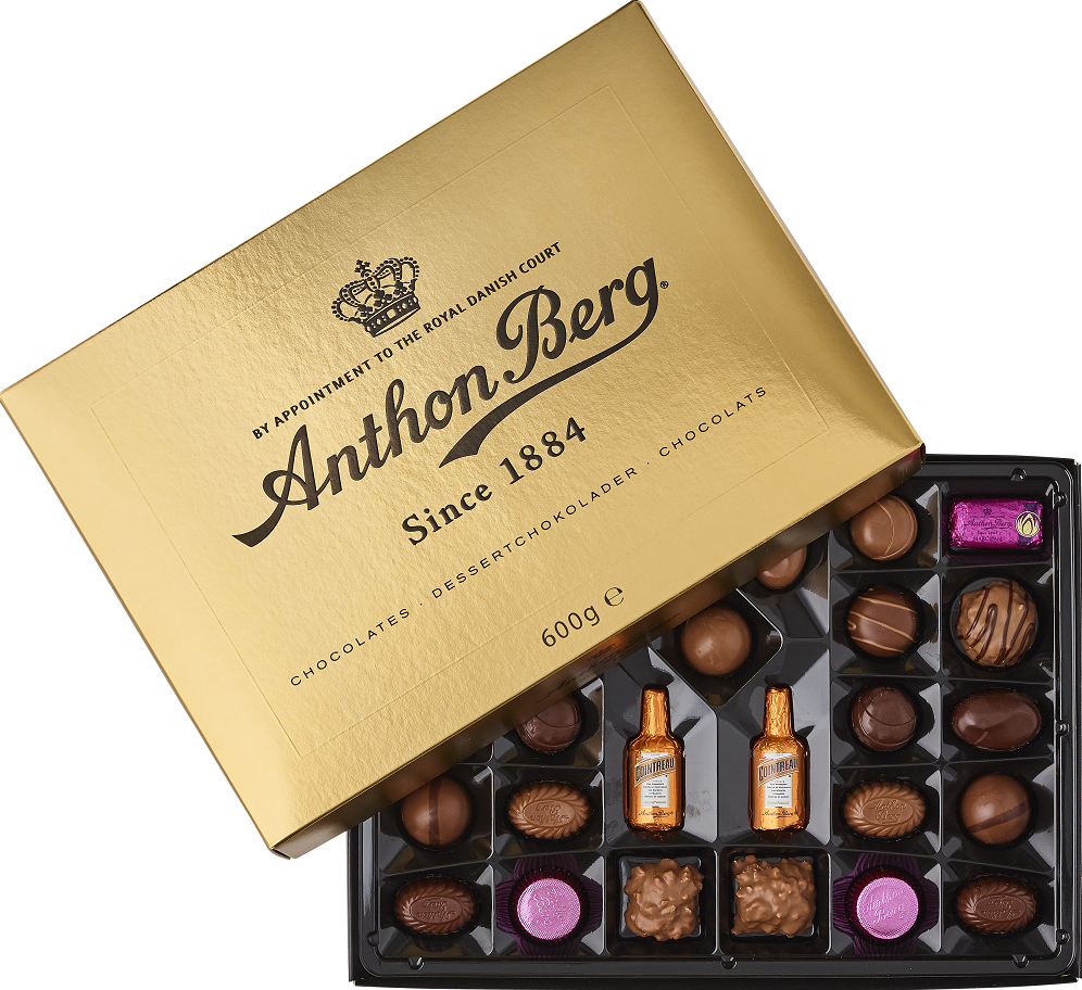 Anthon Berg Pralinen Luxury Gold 600g