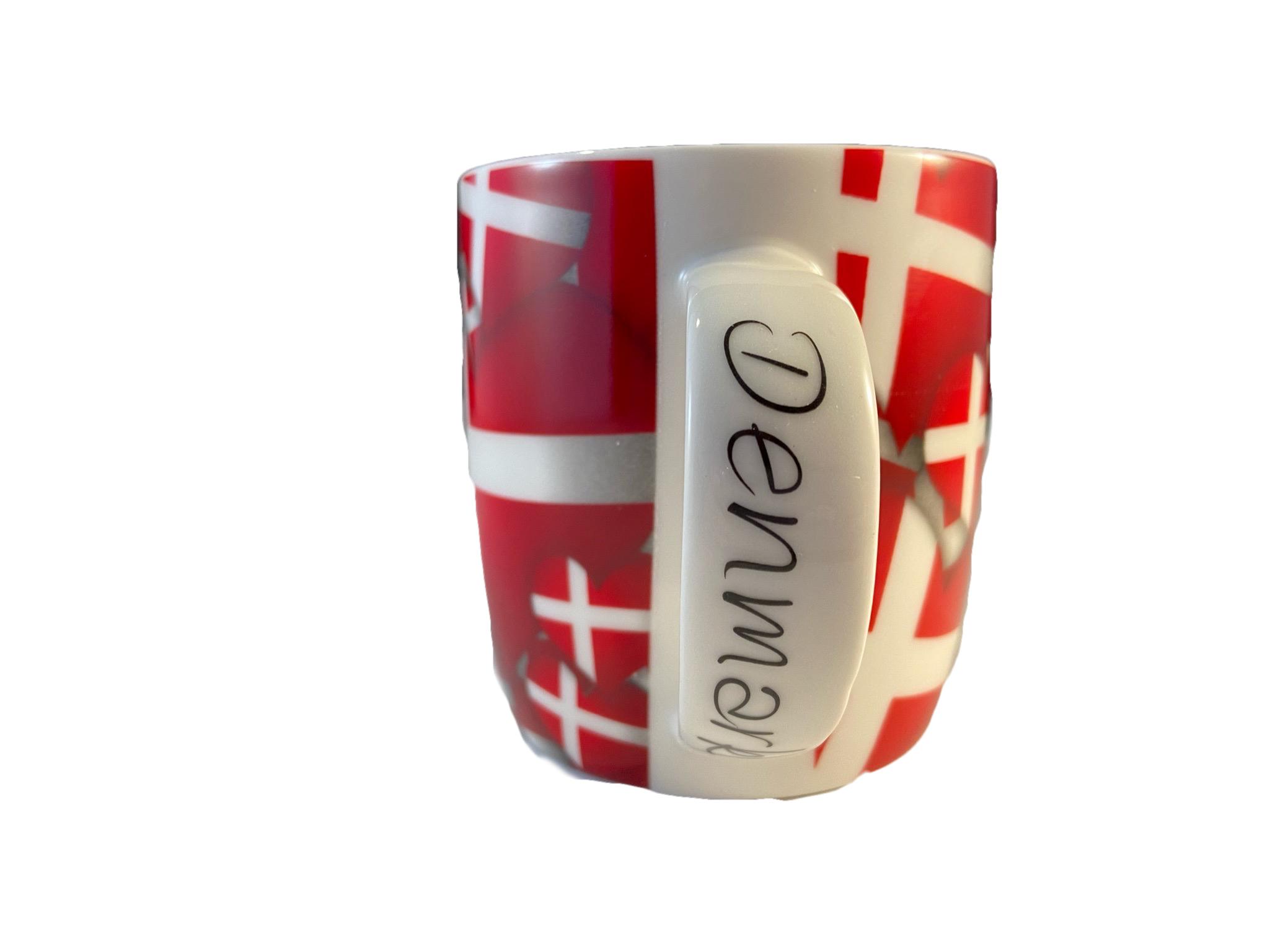 """Kaffeetasse """"Dänemark Herztasse"""""""