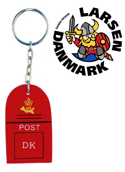 Schlüsselanhänger Dänischer Briefkasten
