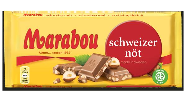 Marabou Nöt Choklad 250g