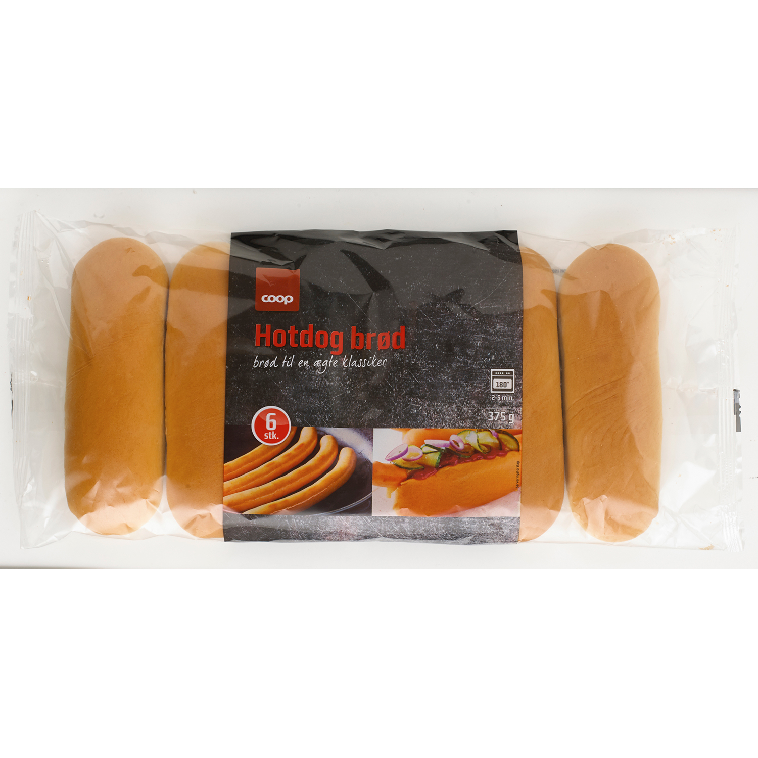 Köbmanden Dänisches Hot Dog Brød 375g