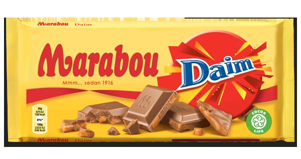 Marabou Daim Schokolade 250g