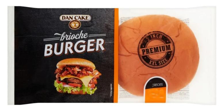 Dan Cake Brioche Burger 300g