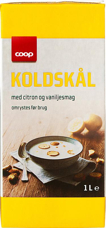 Coop Koldskål mit Zitronensaft 1l