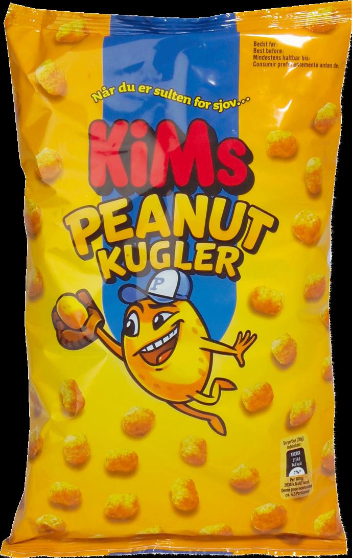 KiMs Peanut Kugler 140g
