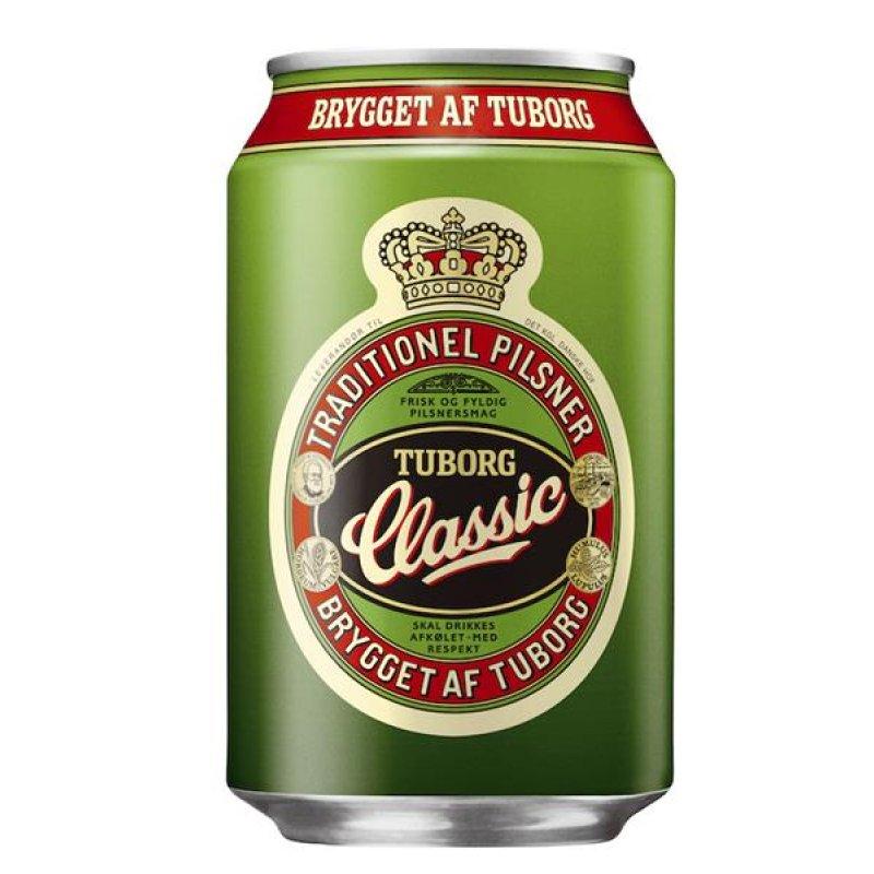 Tuborg Classic 4,6% 0,33l