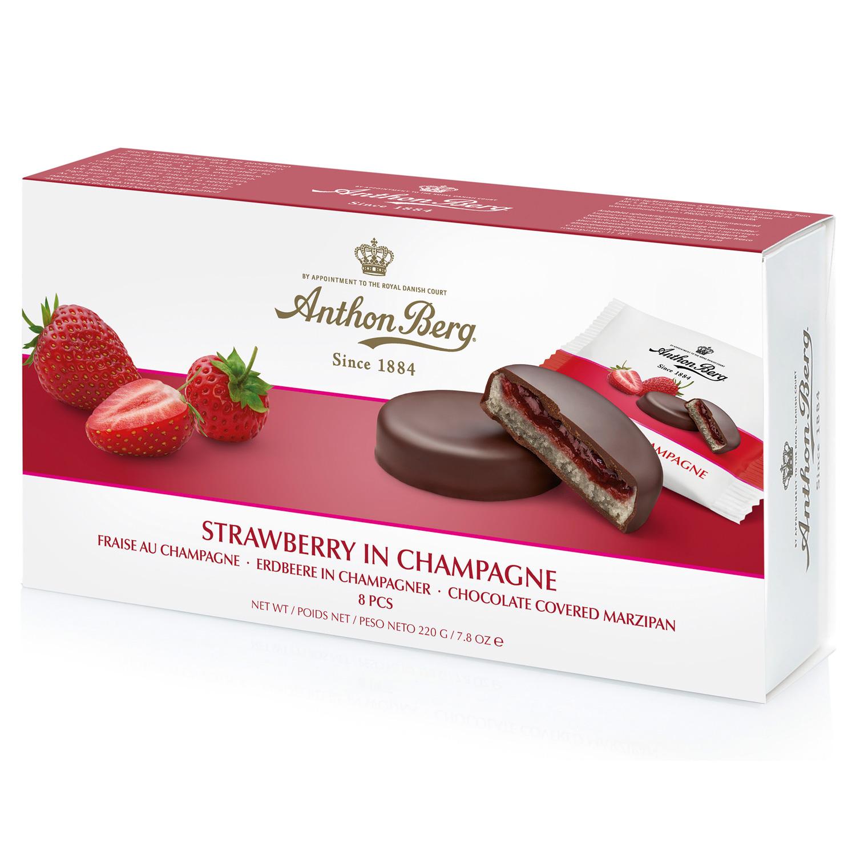Anthon Berg Jordbær i Champagne 192,5g