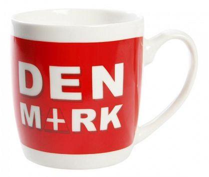 """Dänische Kaffeetasse """"Denmark"""""""
