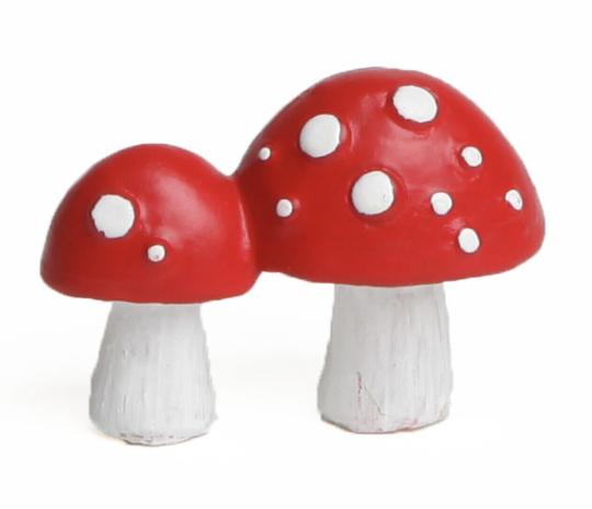 Wichteltürzubehör Pilze