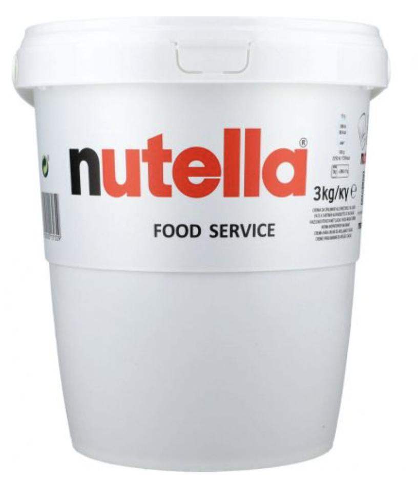 Ferrero Nutella Eimer 3 Kg