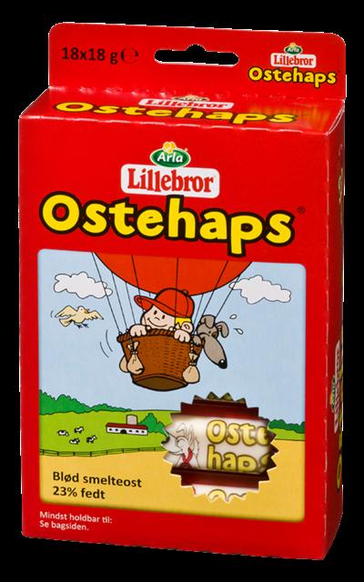 Lillebror Ostehaps 18x18g