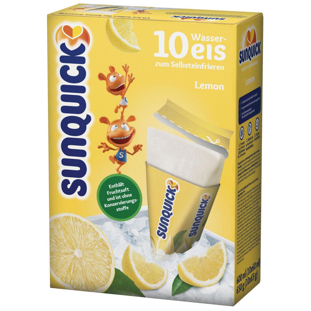 Sunquick Wassereis Zitrone 10er