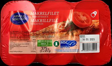 Makrelfilet in Tomatsauce 375g
