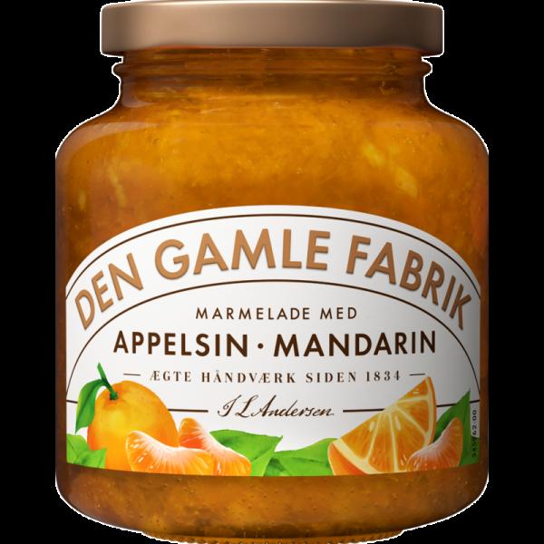 Den Gamle Fabrik Marmelade Mandarinen & Orange 380g