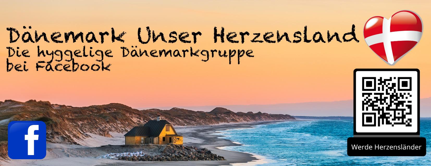 Dänemark Unser Herzensland  Magnet ( Dänischer Strand )