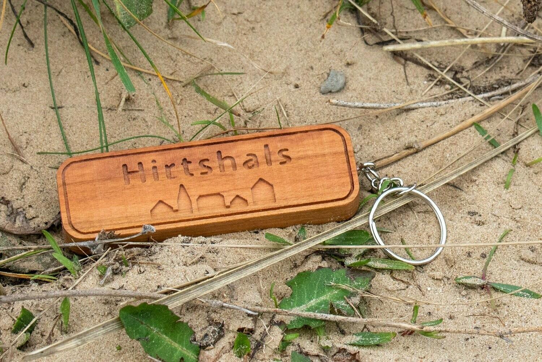 Holz-Schlüsselanhänger Hirtshals