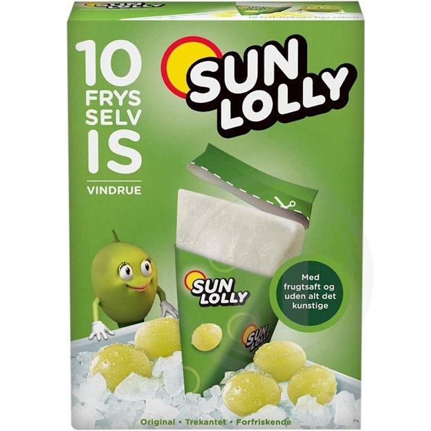Sun Lolly Wassereis Weintraube 10er