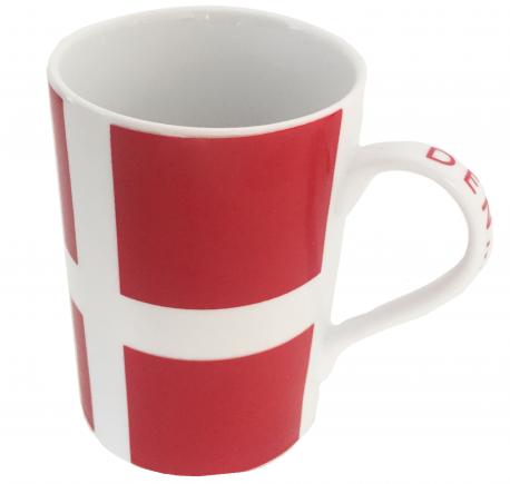 """Dänische Kaffeetasse """"Dannebrog"""""""