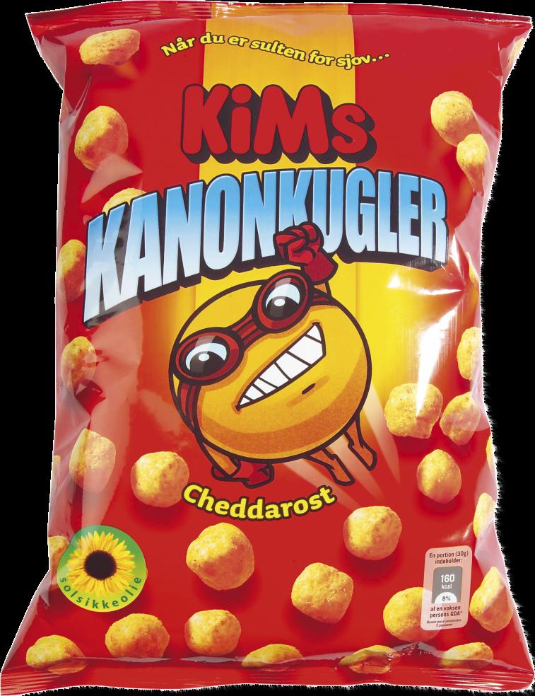 KiMs Kanonkugler 135g