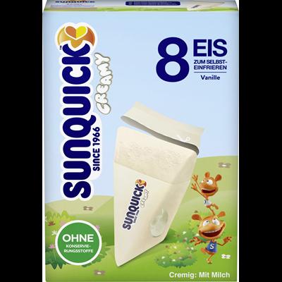 Sunquick Creamy Vanille Eis 8er