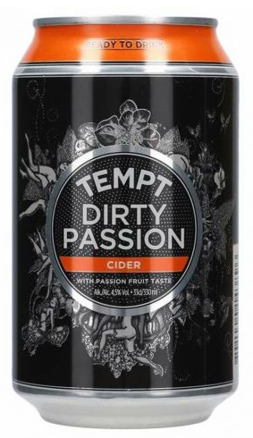 Tempt Dirty Passion Cider 4,5% 0,33l
