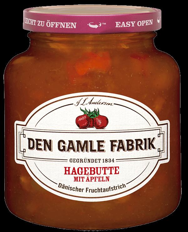 Den Gamle Fabrik Marmelade Hagebutte-Apfel 380g