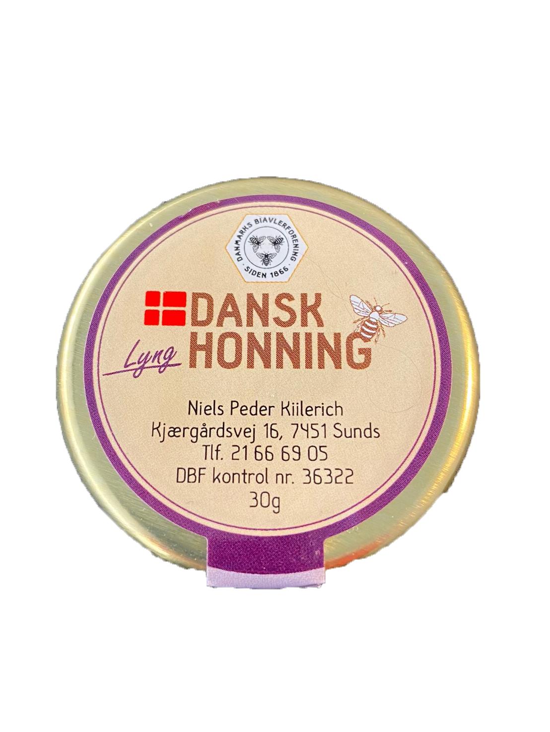 Dänischer Heidehonig 30g Probiergröße