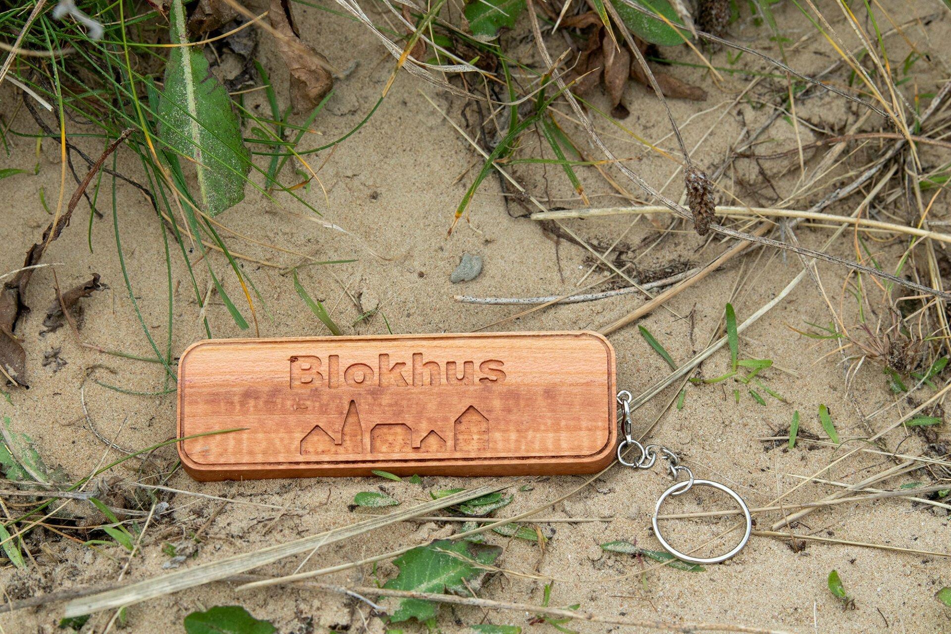 Holz-Schlüsselanhänger Blokhus