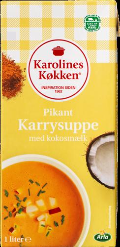 Karolines Køkken Pikante Currysuppe 1L