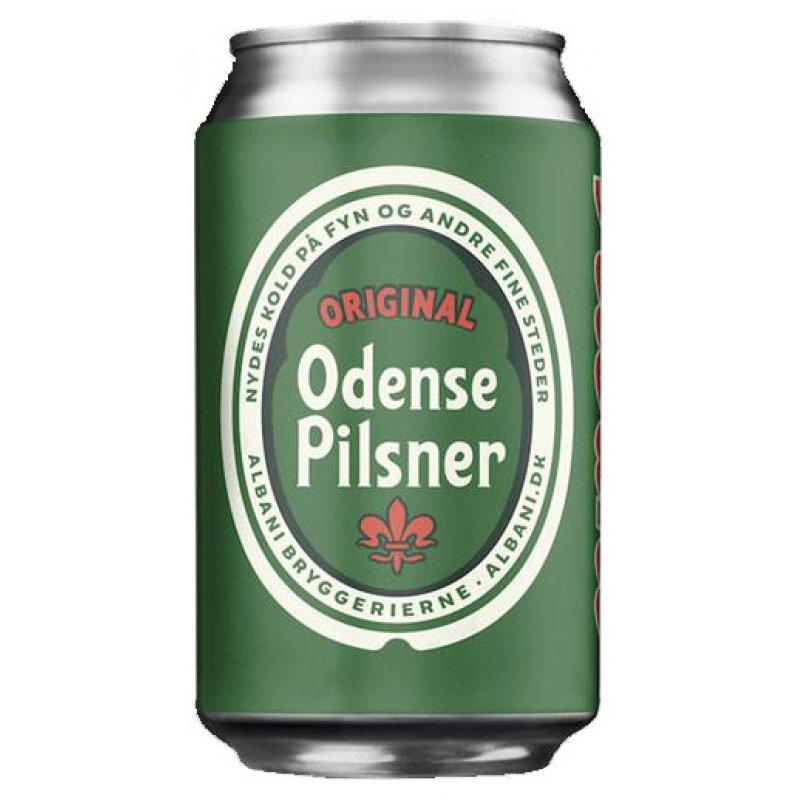 Odense Pilsner 4,6% 0,33l
