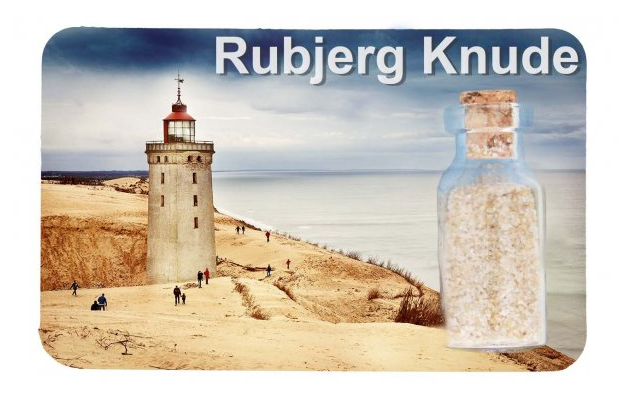 Kühlschrankmagnet  Rubjerg Knude