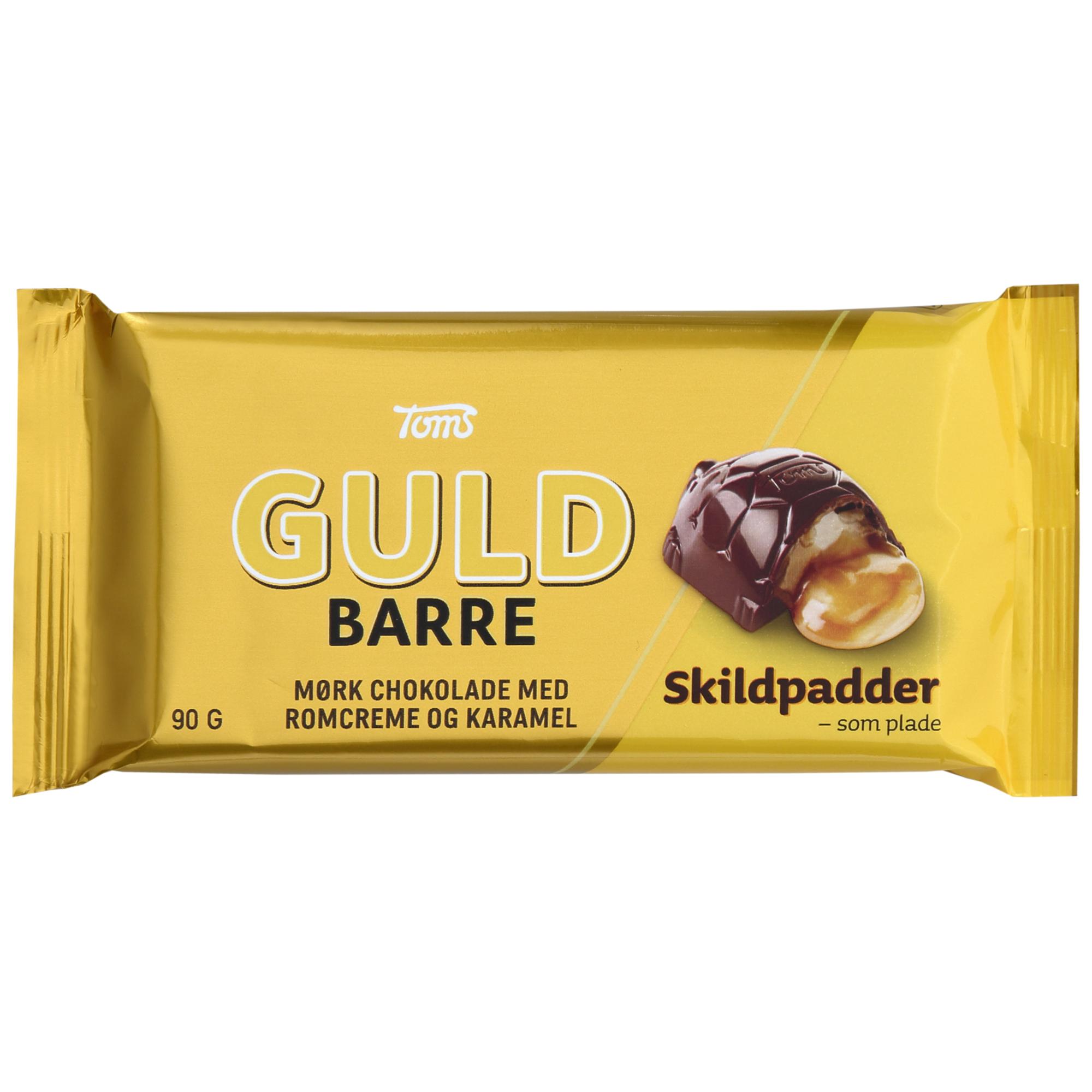 Toms Guld Barre Skildpadder 90g