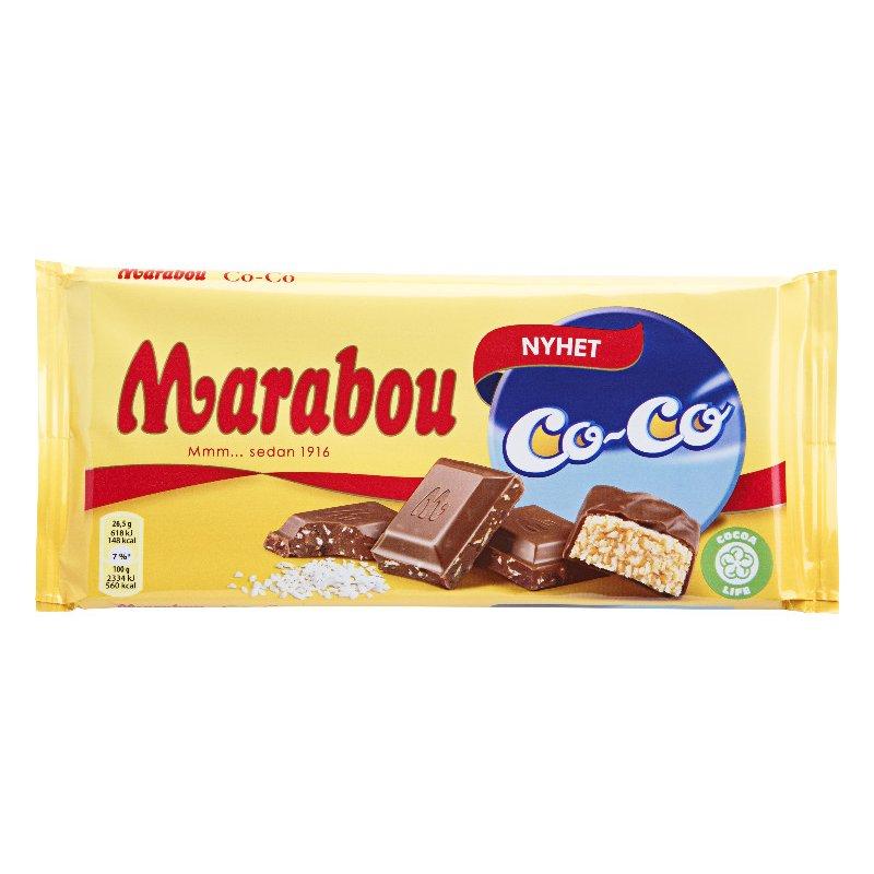 Marabou Co-Co 185g