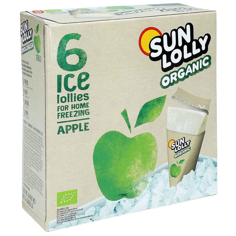 Sun Lolly Organic Apfel 6er