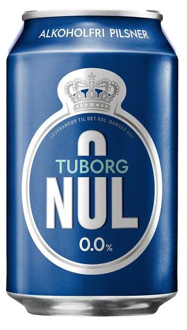 Tuborg Nul 0,33 ltr.