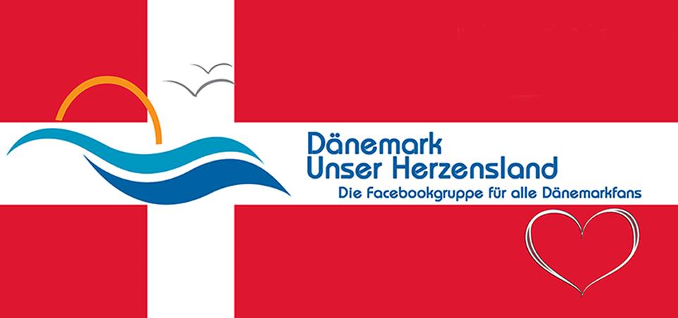 Dänemark Unser Herzensland  Magnet ( Klassisch )