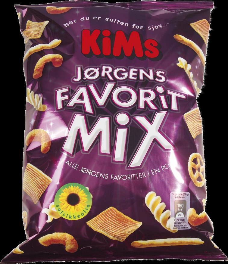 KiMs Jørgens Favorit Mix 140g