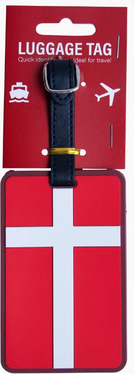 Kofferschild Dannebrog Dänemark