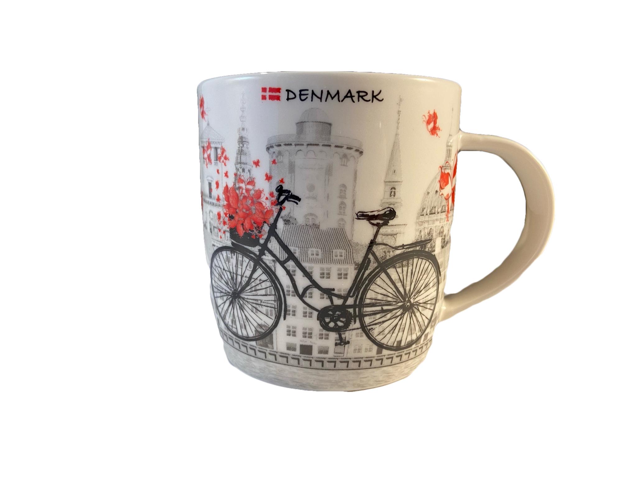 """Dänische Kaffeetasse """"Danmark"""""""