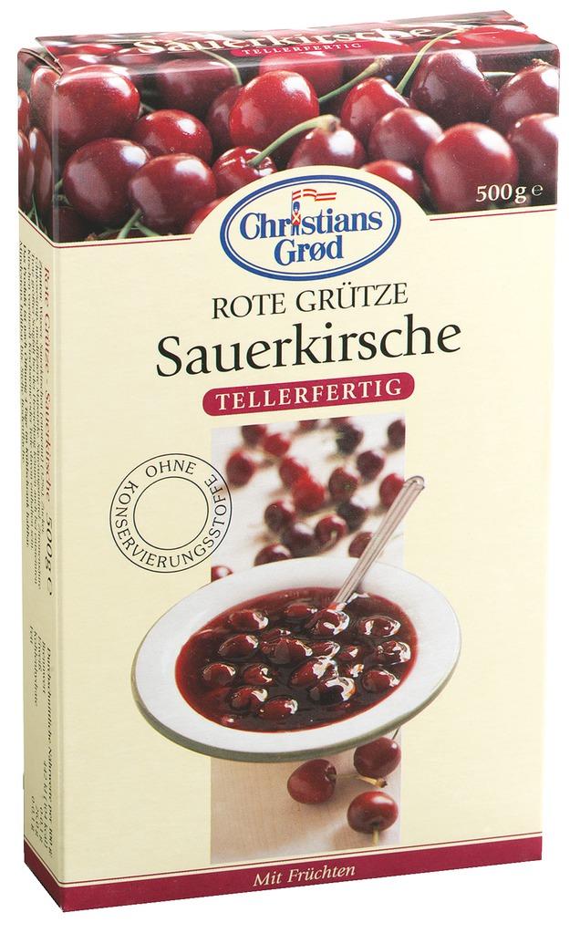Christians Grød Dänische Kirsch Grütze 500g