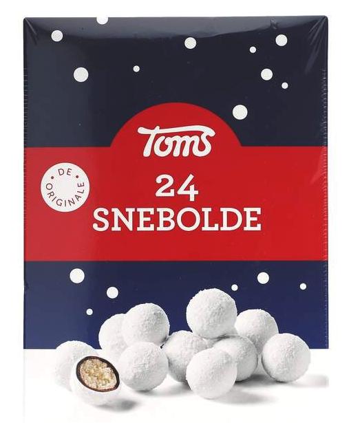 Toms Snebolde 24stk. 372g