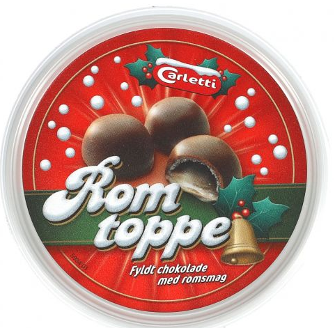 Carletti Marzipankugeln mit Rumgeschmack 160 g