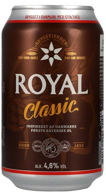 Ceres ROYAL CLASSIC 4,6% 0,33ltr.