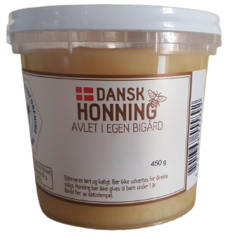 Dänischer Sommerhonig im Becher 450g