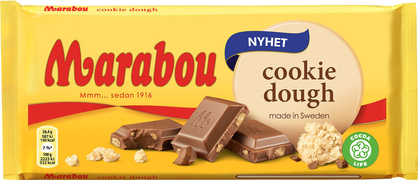 Marabou Cookie Dough 185g